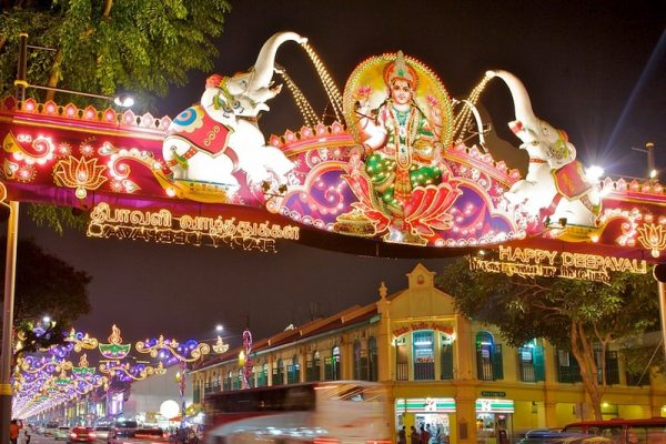 Entrance gate of Singapore's Little India