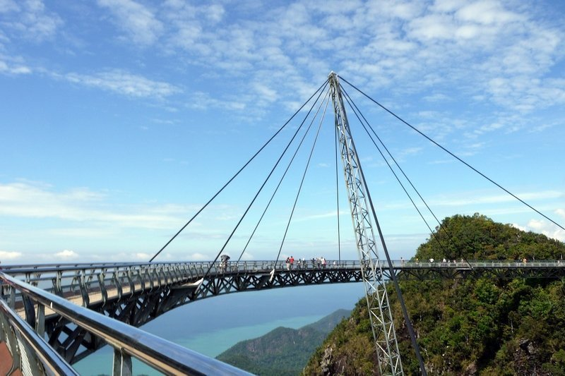Sky Bridge is one of the most popular attractions in Langkawi