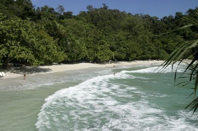 A beautiful beach near the Pangkor Laut Resort