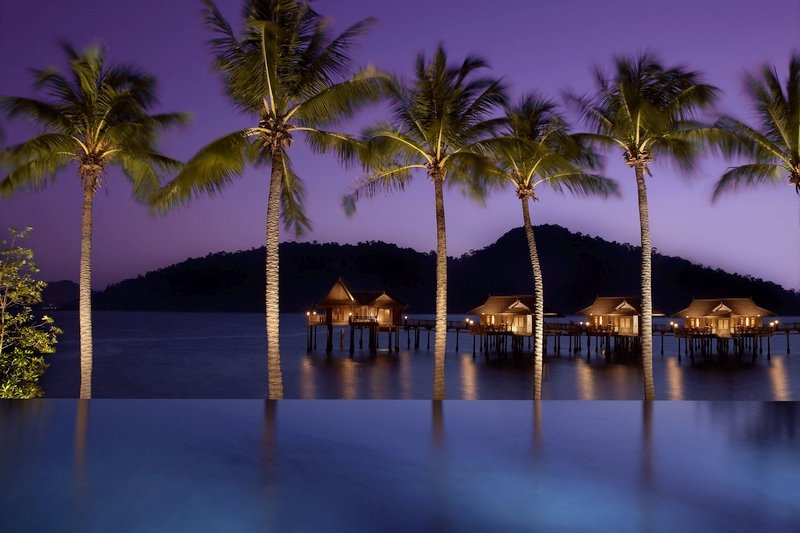 Night Scenery at the Pangkor Laut Resort