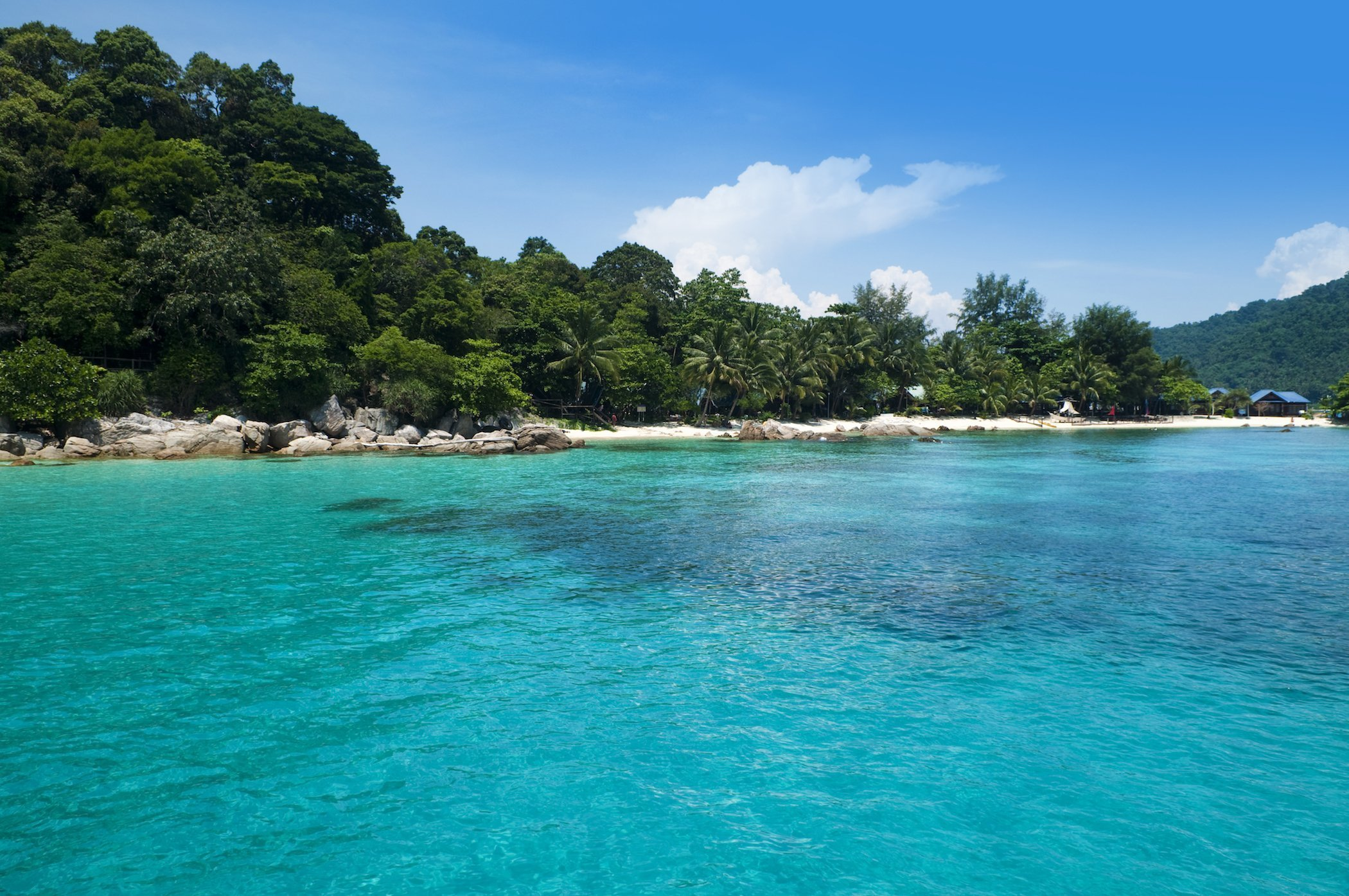 Perhentian Islands have the Clearest Turquoise Waters in Malaysia