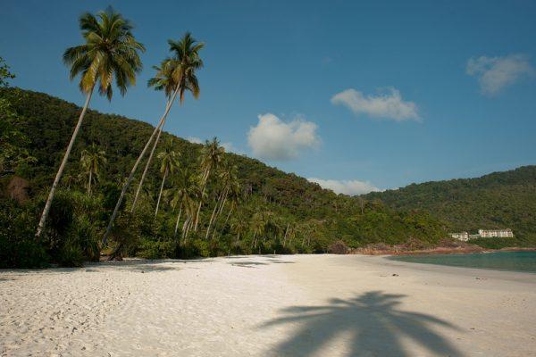 Beach in Redang Island near Taaras Beach Resort