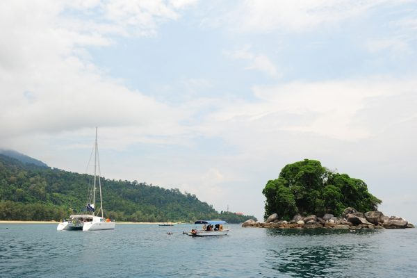 Rocky Island off the Tioman island coasts