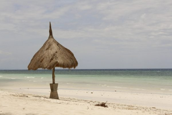 A deserted beach in Bohol