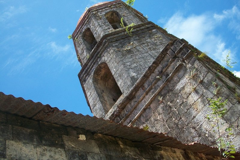 Bell Tower of the Historical church in Siquijor Island