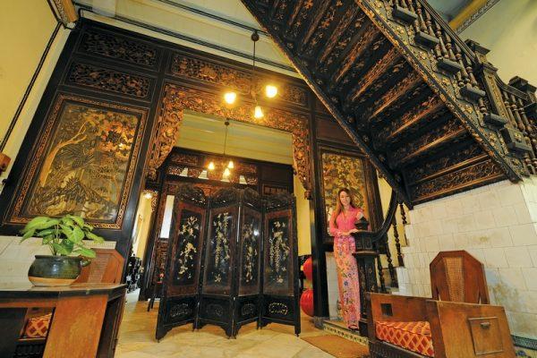 Inside the Baba & Nyonya Heritage Museum