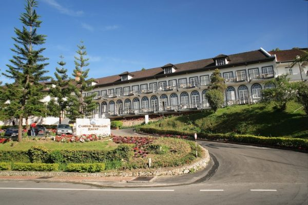 Exterior of the Cameron Highlands Resort