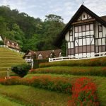 Tudor-style Lakehouse Resort on the green hills of Cameron Highlands