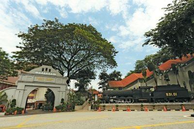 Exterior of the Kuala Lumpur's National Museum