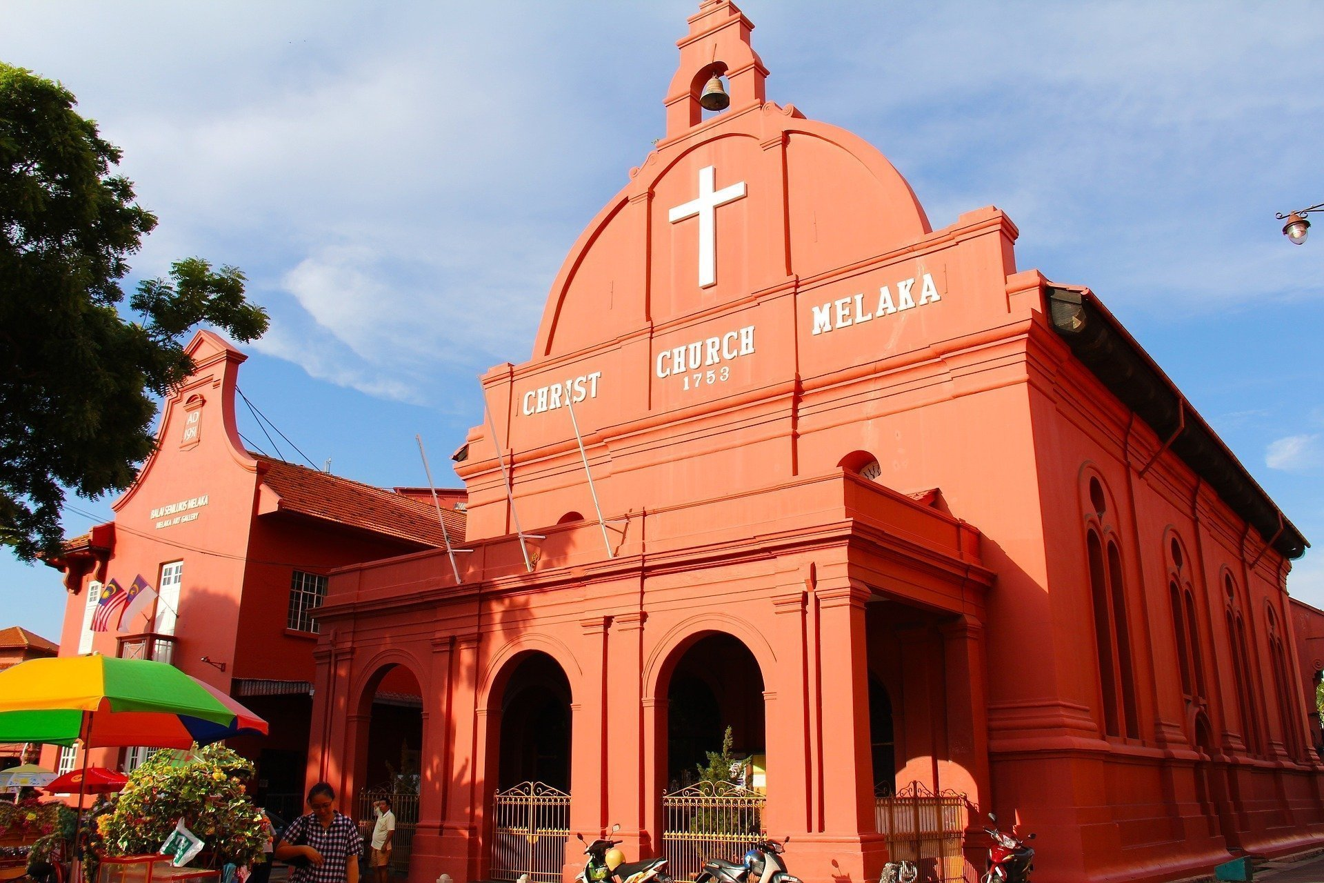 Christ Church is an highlights of Malacca's Dutch Square