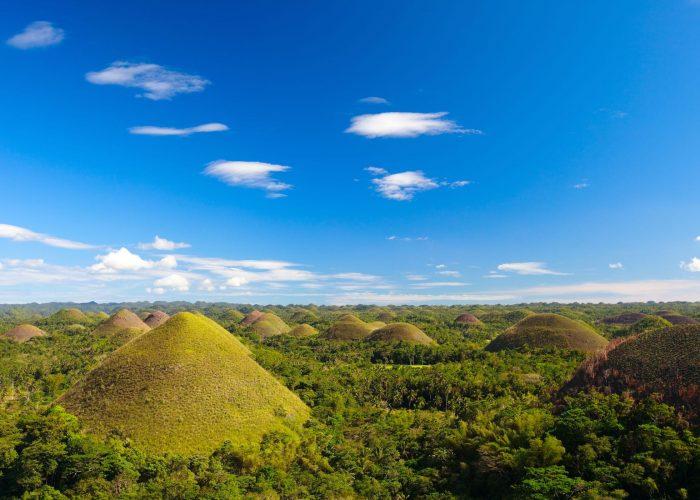 Panoramic view of Bohol's Chocolate Hills