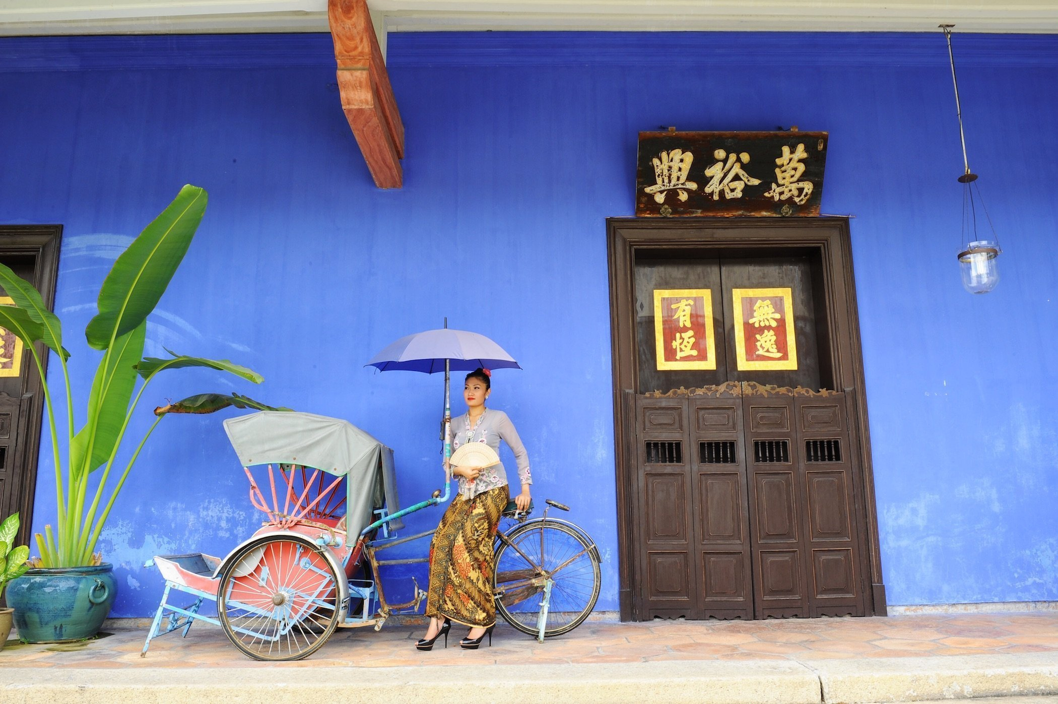 The Cheong Fatt Tze - Blue Mansion is the most iconic boutique heritage hotel in historic George Town, Penang.