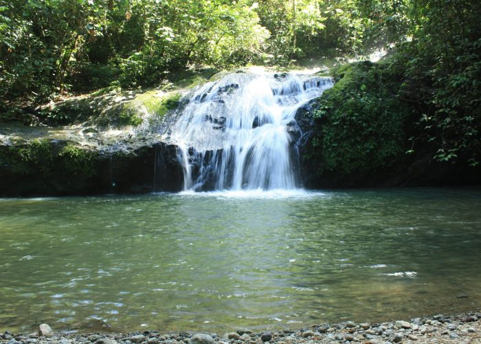 Waterfalls at the Danum Valley's Jacuzzi Pool
