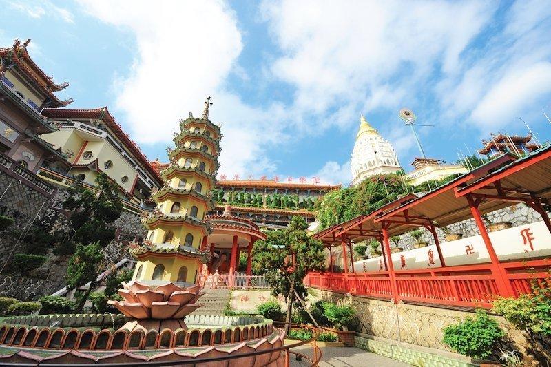 Exterior of Penang's Kek Lok Si Temple
