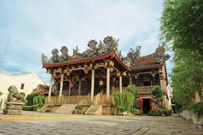 Exterior of Penang's Khoo Kong Si Temple