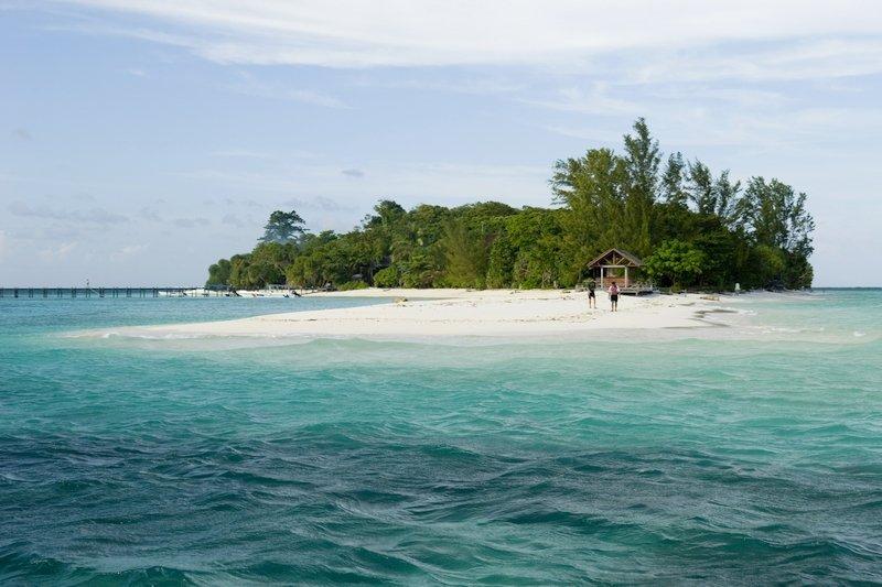 Lankayan Island is one of the most beautiful Islands in Malaysian Borneo