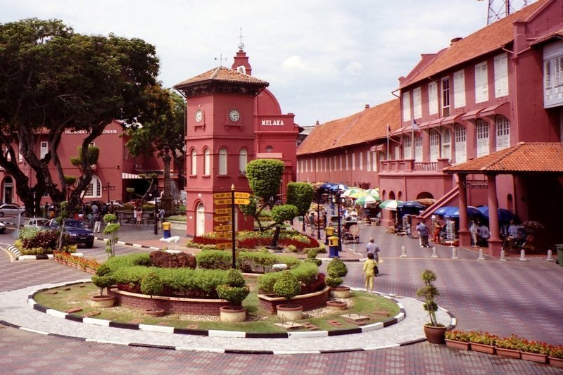 The Stadthuys is a historical structure situated in the heart of Malacca City
