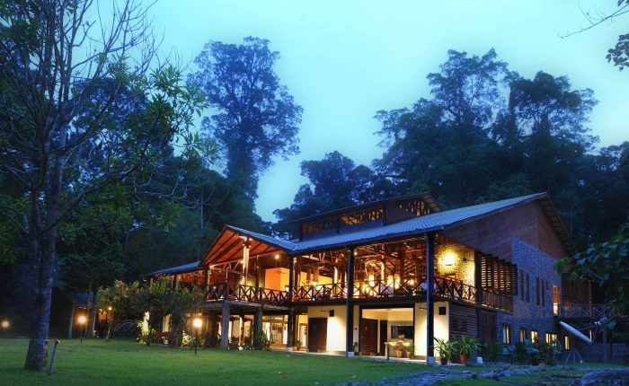 Borneo Rainforest Lodge nestled in Danum Valley's pristine lowland rainforest
