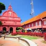 Dutch Square is one of the highlights of Malacca