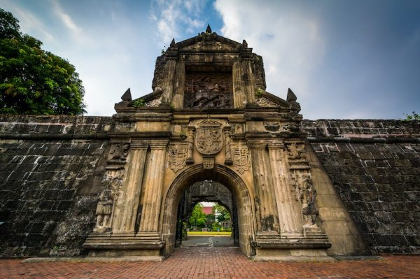 Fort Santiago is one of the highlights of Manila' s Intramuros