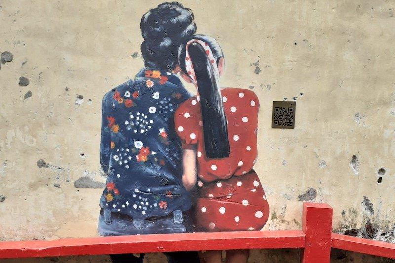 Murales in Kuala Lumpur's Kwai Chai Hong