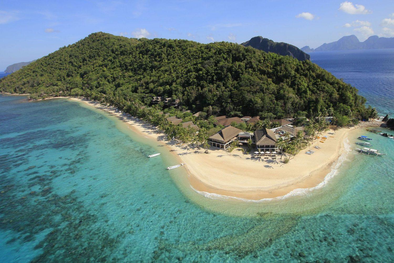 Pangulasian Island is El Nido Resorts' Eco-Luxury island resort in Bacuit Bay, El Nido.