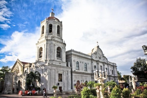Exterior of the Cathedral in Cebu City