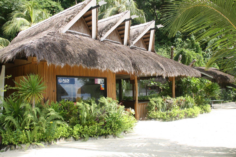 Diving centre at the Miniloc Island's El Nido Resorts