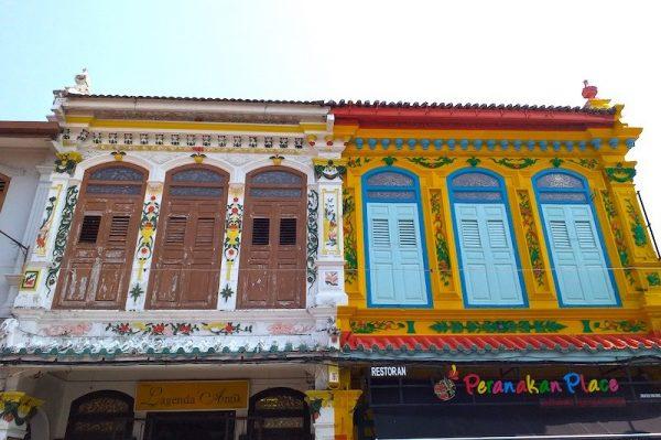 Heritage buildings in Malacca's Jonker Street