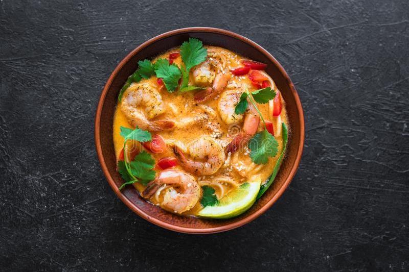 Kuching Laksa Soup