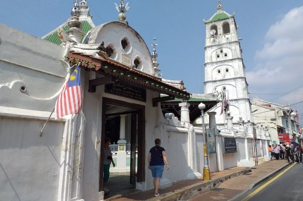 A historical mosque in Malacca